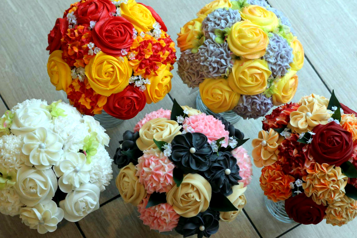 This new jersey bakery makes the best cupcake bouquets epic jersey new jersey cupcake bouquet floral bakery gift baskets izmirmasajfo